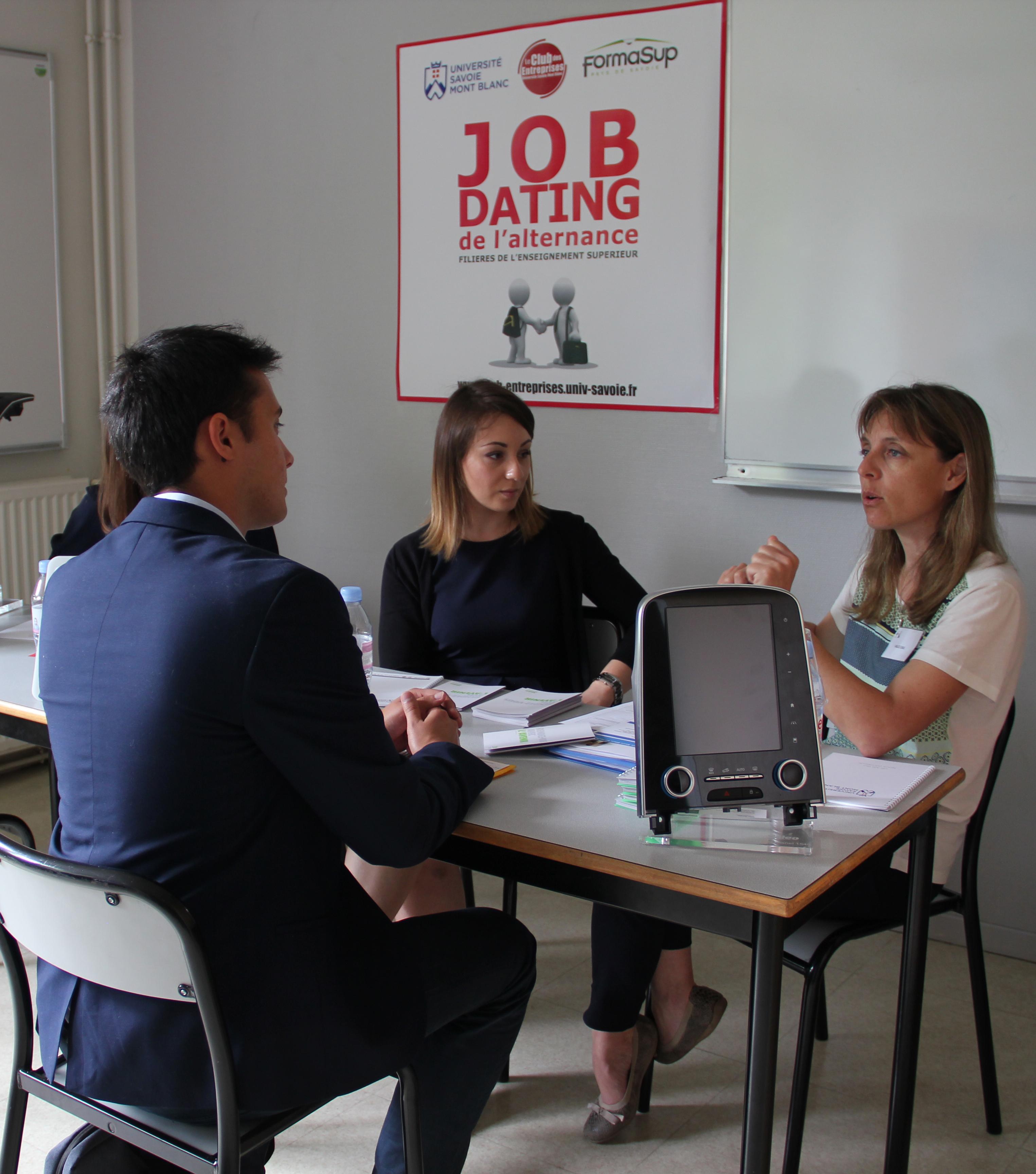 job dating alternance marseille Dans le cadre du plan marseille emploi organisé par la ville de marseille et aix-marseille université a eu lieu la 3e édition du job dating, le 23.